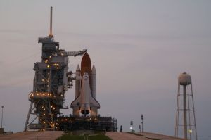 The space shuttle was a project for the future when I did my first trip to Florida in the mid-seventies. Years later, I was able to see it for real on a launch pad and later attend two lift-offs.