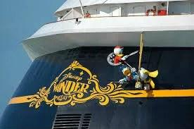 Disney Wonder Aft