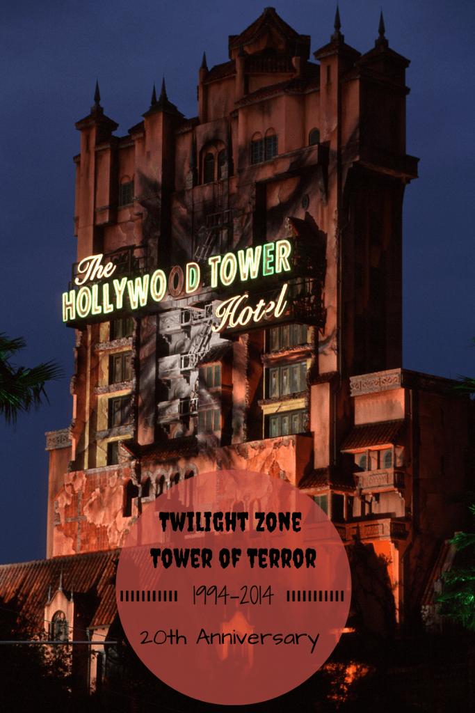 Twilight Zone Tower of Terror 20th Anniversary