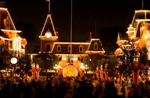 HALLOWEEN TIME:  Main Street  (Paul Hiffmeyer/Disneyland)
