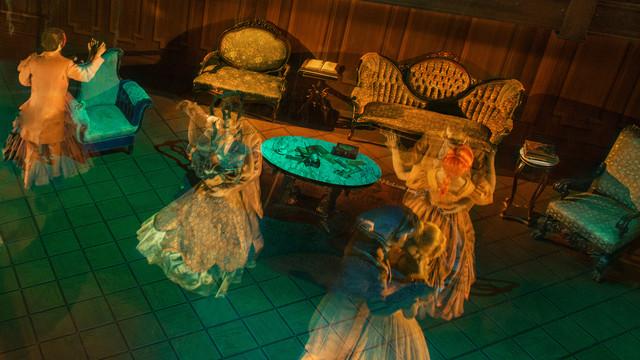Haunted Mansion dancing