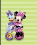 Minnie Mouse Celebration - 7 backgrounds