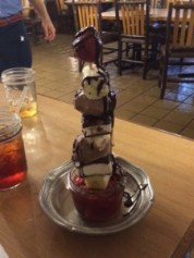 Dairy free Dessert at Trails End