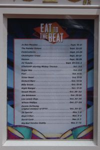 eat to the beat line up