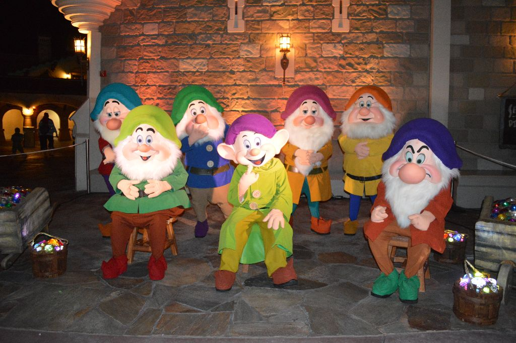 the 7 dwarfs MNSSHP