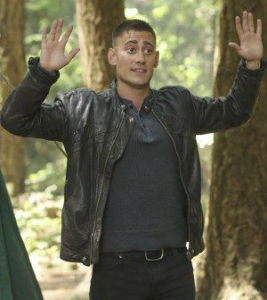 """Michael Socha (the Knave of Hearts from """"Once Upon a Time: Wonderland"""") returns to the """"Once""""-iverse as Will Scarlet.  All photos via ABC Television."""