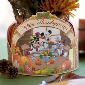 mickey thanksgiving centerpiece