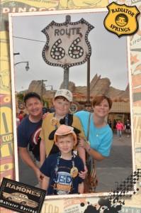 our first Disneyland Trip