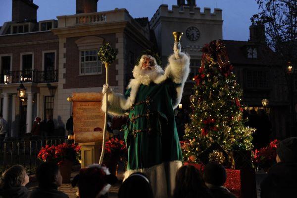 Epcot Father Christmas Storyteller