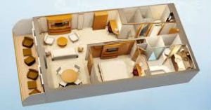 DCL one bedroom layout