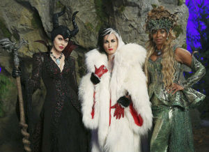 The new baddies of Once Upon a Time.
