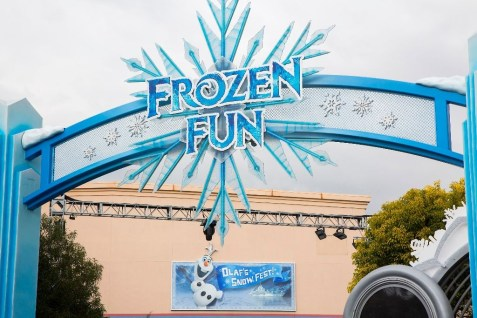 New 'Frozen Fun' at the Disneyland Resort (Paul Hiffmeyer/Disneyland)