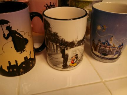 Disney coffee mugs