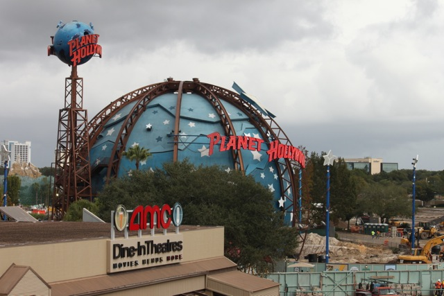 Planet Hollywood - Wordless Wednesday