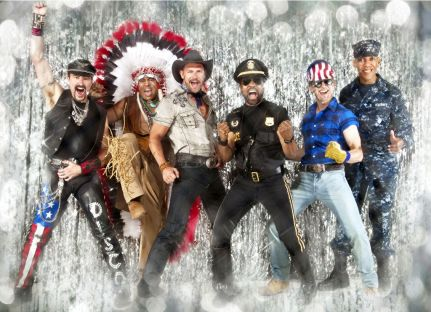 "The Village People. How can you resist doing the ""Y.M.C.A"" in Epcot?"