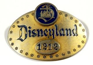 Walt Disney Cast Member 1st Year Badge