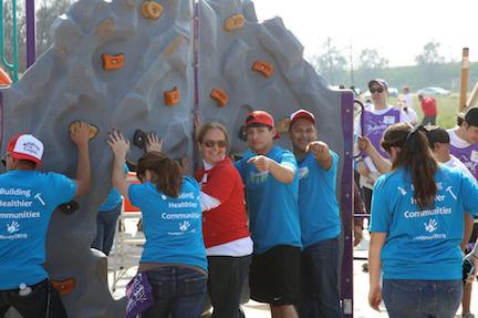 Disney Voluntears, Kaboom & McFarland Playground