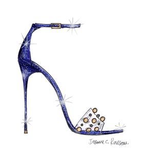 Cinderella Shoe - Jerome C. Rousseau