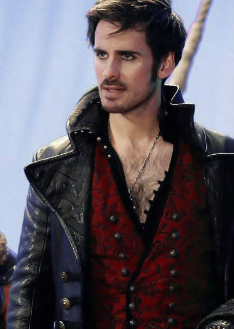 Hook in his natural habitat.  All is right with the world again.  All photos via ABC Television.