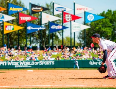 2014 Atlanta Braves Spring Training at Champion Stadium at ESPN Wide World of Sports