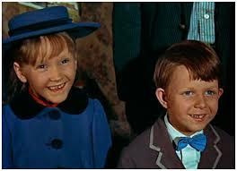 karen dotrice and matthew garber - mary poppins
