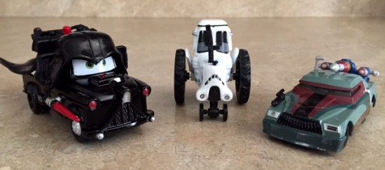 Cars Star Wars Diecast - 1st release