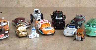 Cars Star Wars Diecast - 1st release - FULL