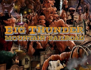 disney kingdom big thunder mountain railroad