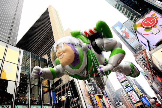 Buzz Lightyear balloon D23 Expo