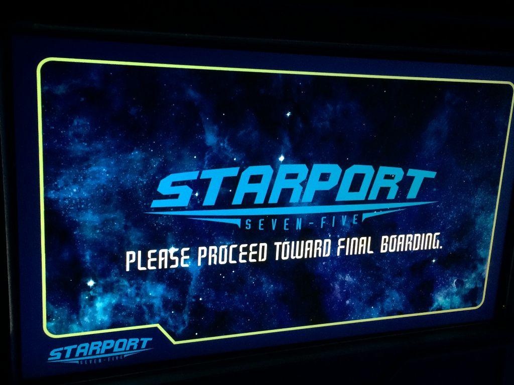 StarPort 75 - space mountain