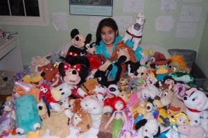 Plush Mountain - disney store stuffed animals