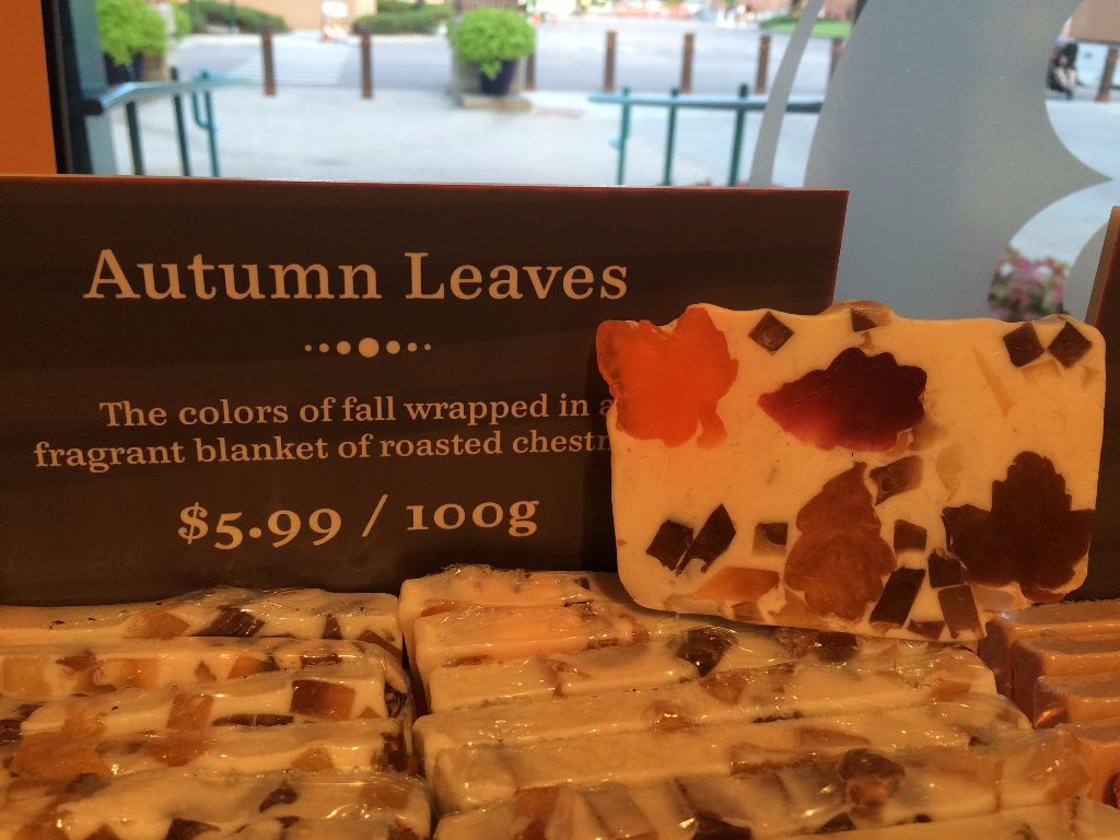 Basin Halloween Soap - Autumn Leaves