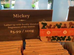 Basin Halloween Soap - Mickey