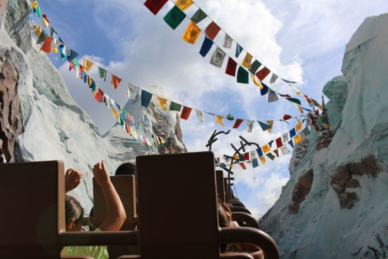 Expedition Everest Wordless Wednesday