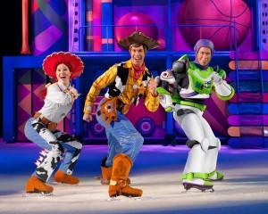 Jessie, Woody and Buzz Lightyear Disney on Ice 100 years