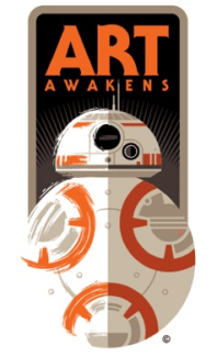 star wars force awakens art awakens