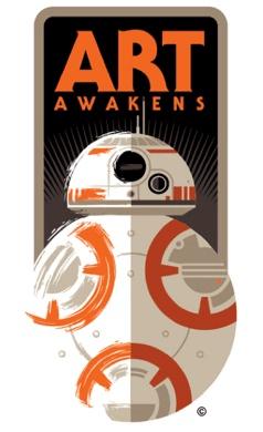 star wars force awakens art awakens