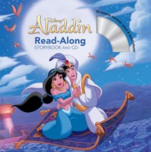 Aladdin read along story & cd
