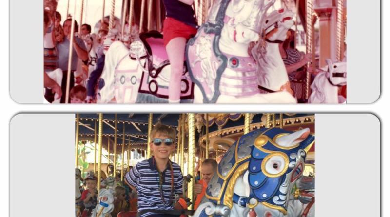 Cinderella's Golden Carousel - Kelley - Throwback Thursday