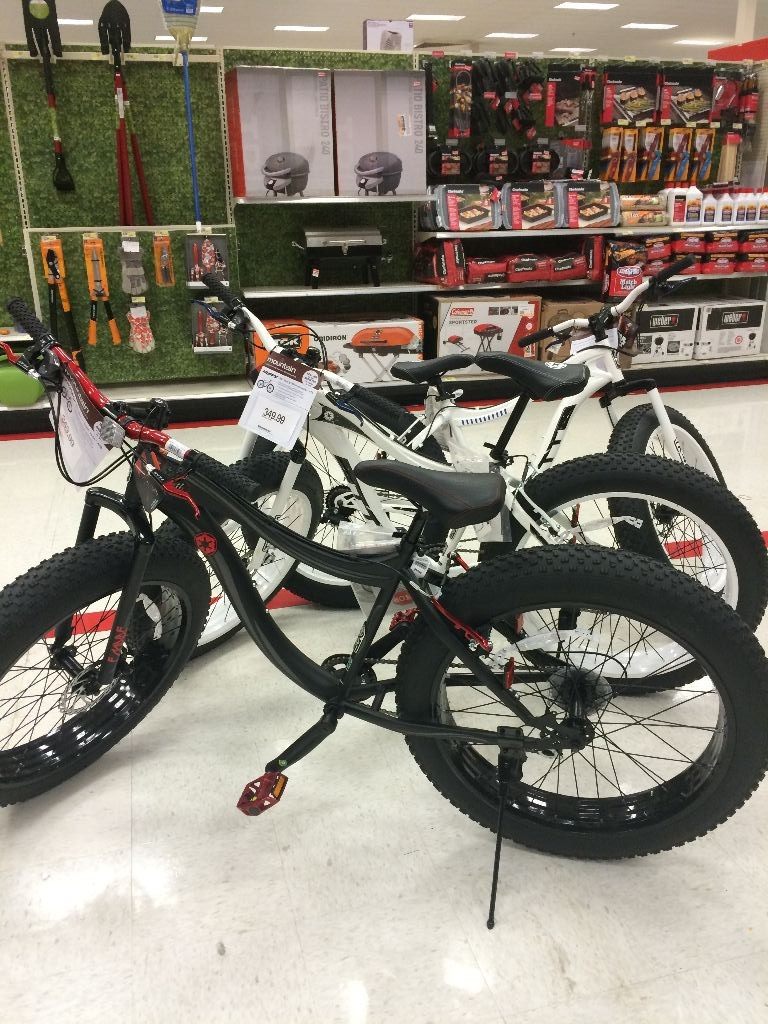Star Wars Force Friday Target Bikes