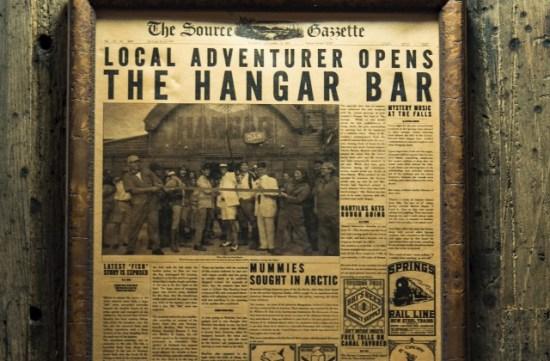 Jock Lindsay's Hangar Bar details