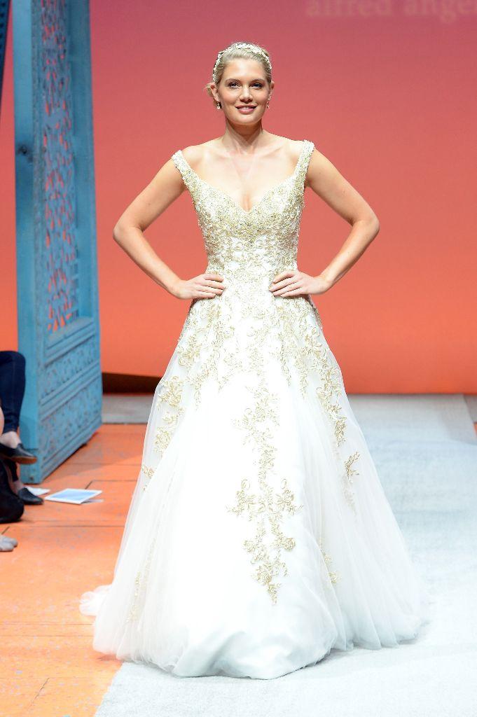 Disney Tiana Wedding Dress 9 Beautiful Alfred Angelo Unveils Its