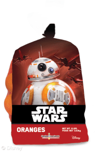 BB8 Oranges Star Wars produce