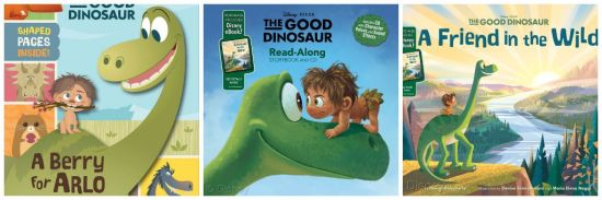 Good Dinosaur books
