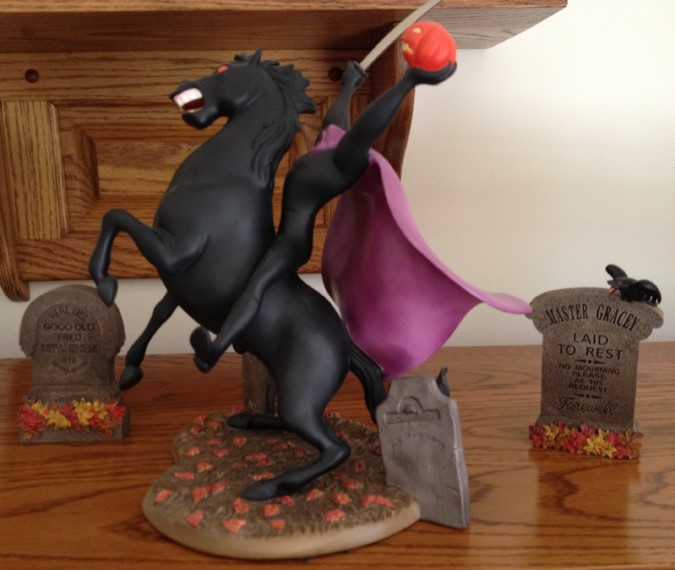 The Headless Horseman - A WDCC Set Disney Headless Horseman