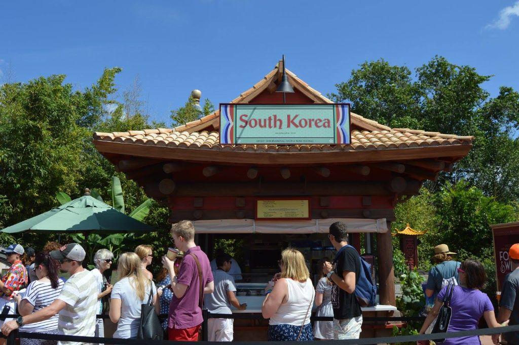epcot food & wine photo tour 2015 - south korea