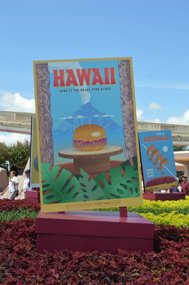 epcot food & wine photo tour 2015 - hawaii