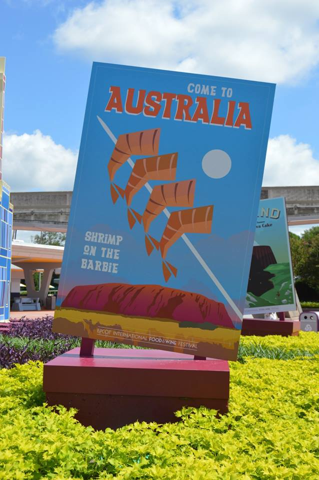 epcot food & wine photo tour 2015 - australia