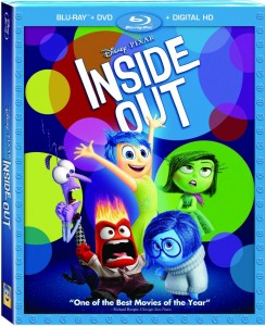 Inside Out Bluray Combo Art