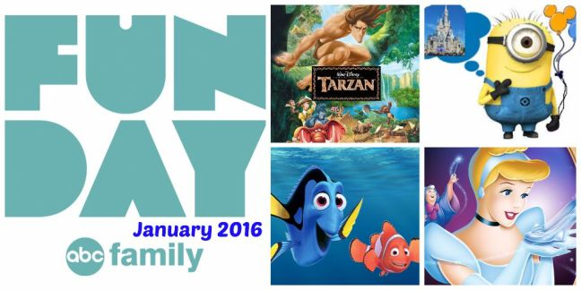 ABC Family FunDay January 2016